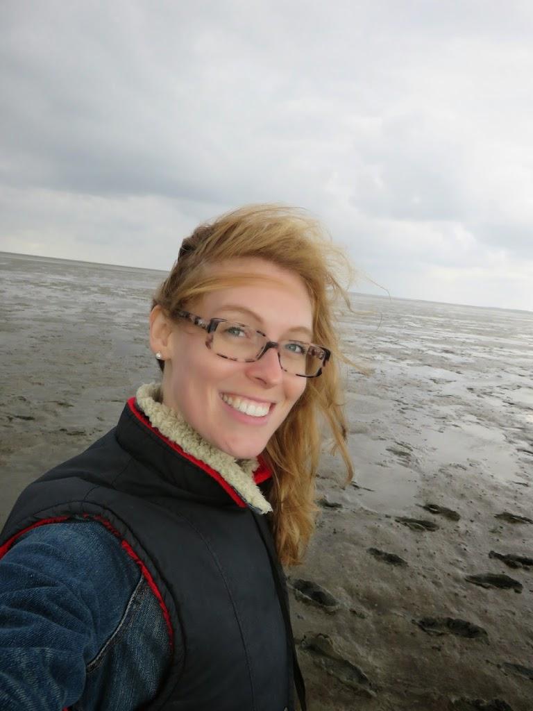 smile pieterburen wadlopen selfie