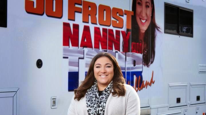 Jo Frost Nanny on tour Nederland Supernanny