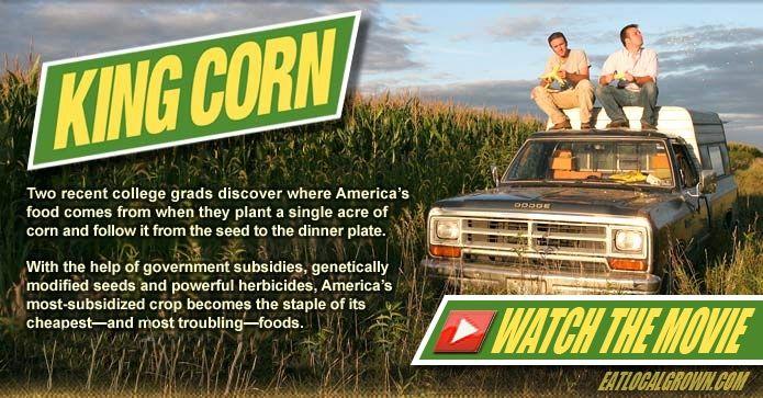King Corn Maïs Koning