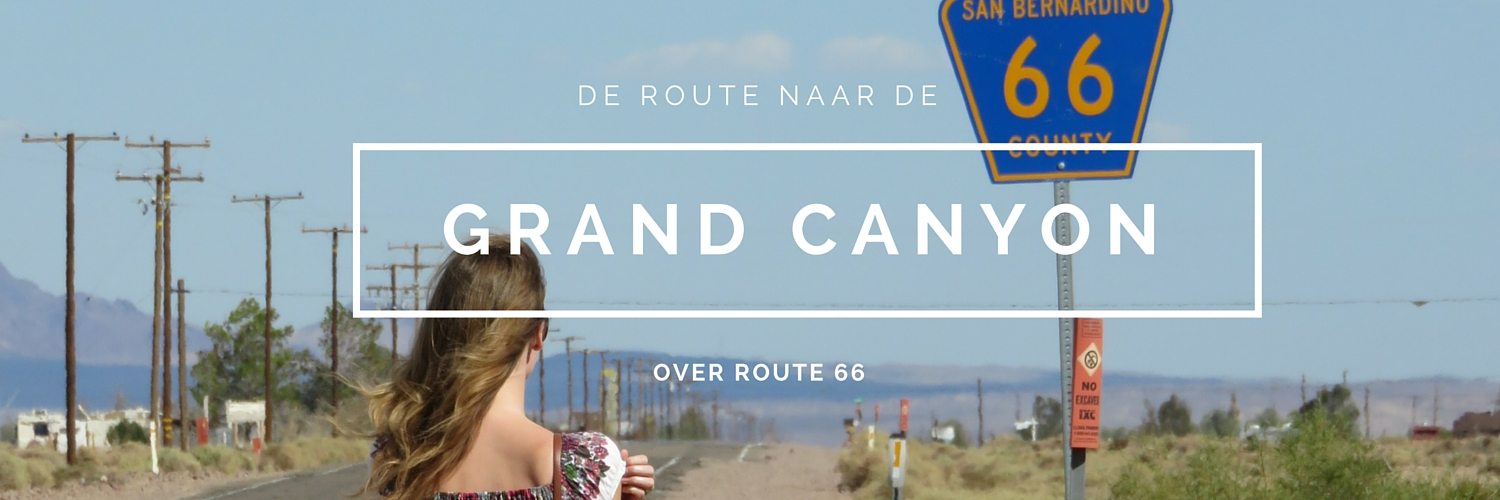 De reis naar de Grand Canyon over route 66 Seligman