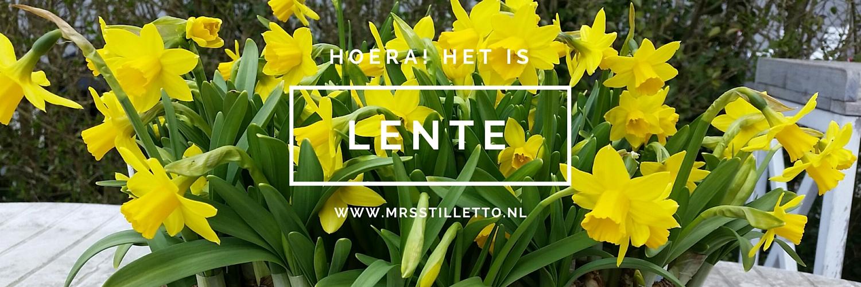 Hoera het is lente - Lente, als je denkt dat je het gehad hebt diary