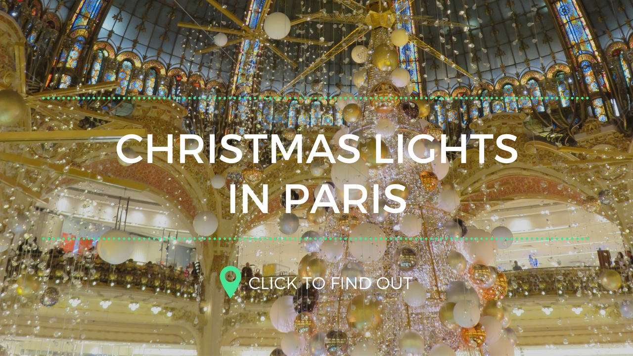 Kerstsfeer in Parijs