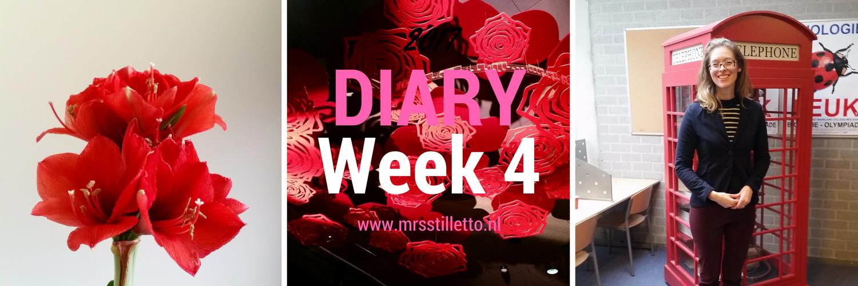 DIARY Week 4 Edo en Arie