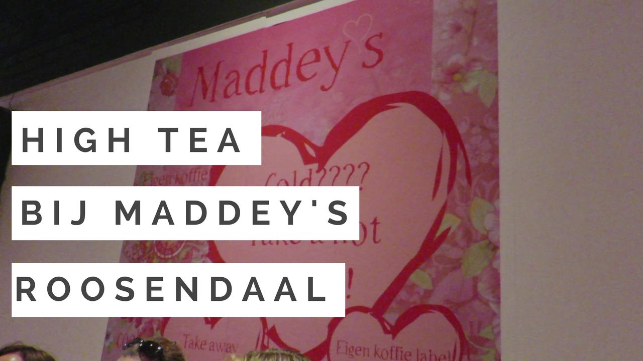 High Tea bij Maddeys Roosendaal