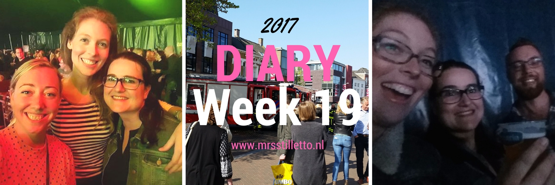 DIARY 2017 Week 19 Eurovisie Songfestival 2017