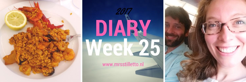 DIARY 2017 Week 25 E Viva Espana