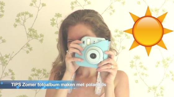 zomeralbum fotoalbum maken met polaroids - TIPS