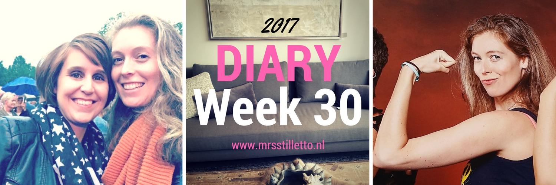 DIARY 2017 Week 30 Visites
