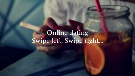 Online dating Swipe left, Swipe right...