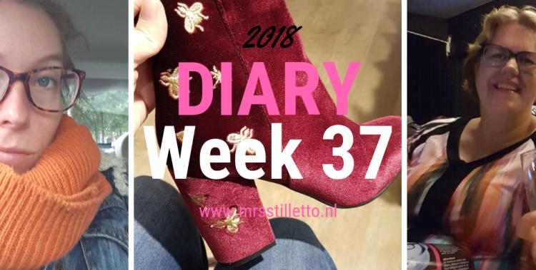 DIARY 2018 - Week 37 - meltdown