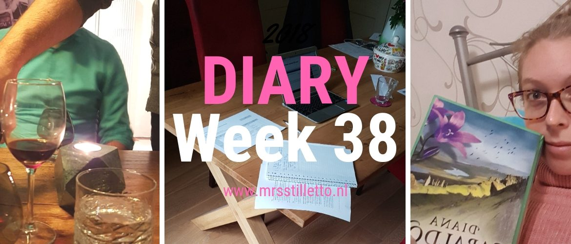 DIARY 2018 - Week 38 - Literary Society en doorknallen
