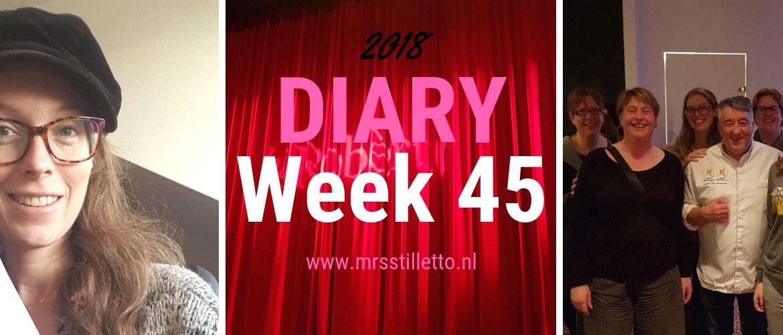 DIARY 2018 - Week 45 - Robèrt van Beckhoven