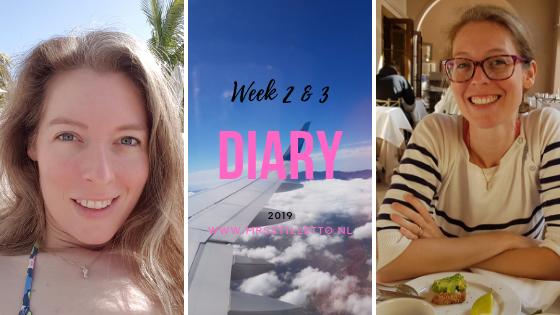 DIARY 2019 - Week 2 en 3 - Laatste loodjes en Gran Canaria