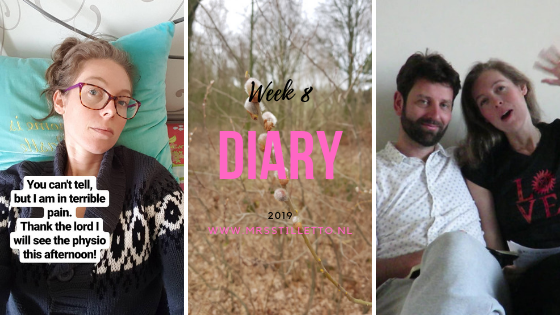 DIARY 2019 - Week 8 - wij weten wie de mol is
