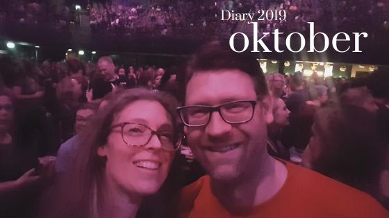 vincent en nancy bij het concert van krezip een omslagfoto voor diary oktober 2019