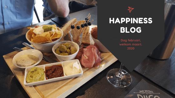 Dag februari welkom maart 2020 happiness blog