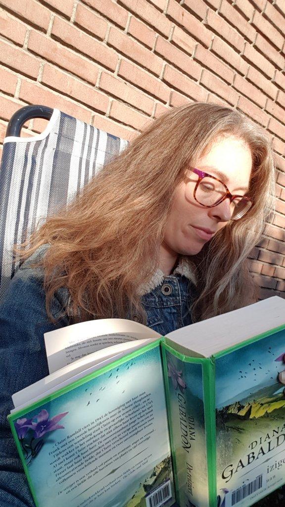 Lezen in De Reiziger Diana Gabaldon