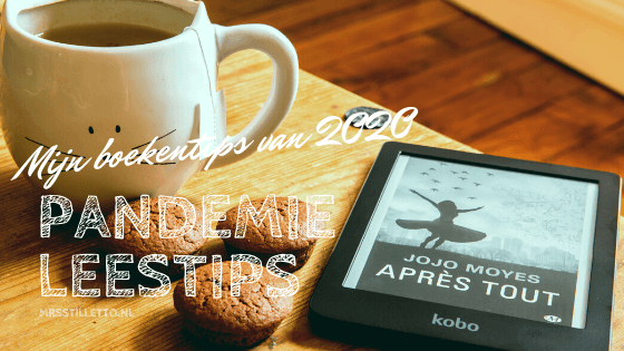mijn boekentips van 2020 boeken om te lezen tijdens de pandemie